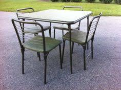 Cosco Folding Table And Chairs Farstrup Mobler Restored Classic Stick Back By Madmodworldvintage