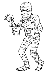 scary halloween coloring pages ngbasic