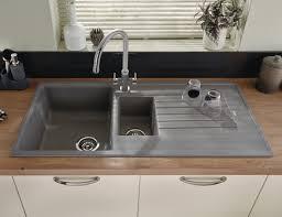 black granite composite sink attractive grey granite kitchen sink lamona composite 15 bowl