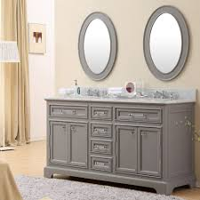 Bathroom Vanity Double by Carenton 72 Inch Traditional Double Sink Bathroom Vanity Gray Finish