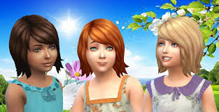 child bob haircut sims 4 the sims 4 ep 01 get to work gtw shaggy bob hairstyle hairs