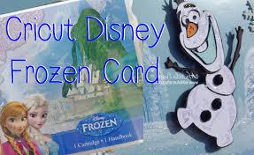 Frozen Invitation Cards Cricut Disney Frozen Olaf Card Youtube