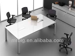 White Meeting Table White Conference Tables Hangzhouschool Info