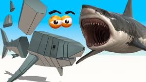 cube builder for kids hd build a great white shark for
