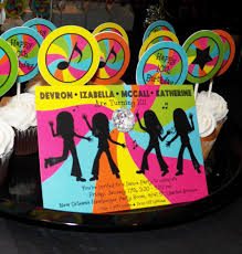 Neon Themed Decorations Neon Brights Dance Party Swirl Birthday That Party