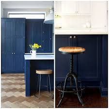 what color floor with blue cabinets 4 ways to use navy blue in your kitchen big chill