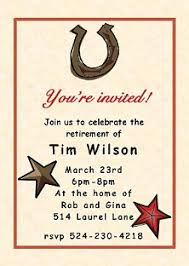 country and western party invitations new selections winter 2017