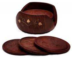 5 best wood coaster set u2013 potect your table no matter what