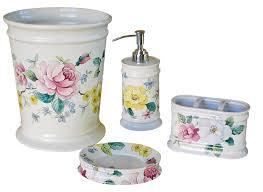 fabulous porcelain bathroom accessories ceramic bath accessory set