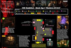 Black Ops 3 Map Packs Zombified Call Of Duty Zombie Map Layouts Secrets Easter Eggs