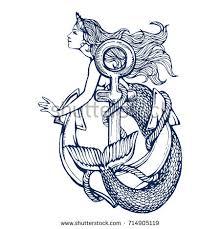 vintage mermaid stock images royalty free images u0026 vectors