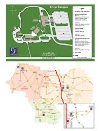Central Florida Map College Of Central Florida Citrus Campus Map