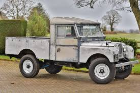 land rover series 1 1957 land rover 107 inch chassis 34 classic car auctions