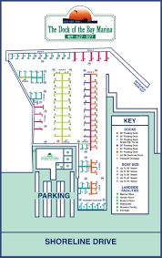 Map Of Sandusky Ohio by Facilities Dock Of The Bay Marina