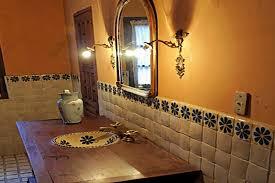 rustic restaurant decor ideas mexican style bathroom mexican