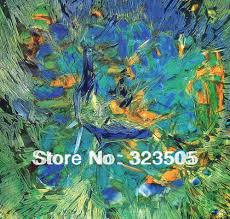 Peacock Decorations For Home Aliexpress Com Buy Impressionist Hand Painted Peacock Decor Wall
