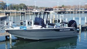 bar crusher 615 wr powered with a 150 hp mercury 4 stroke outboard