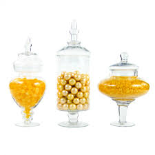 couture apothecary jars glass candy buffet jars dmc97068