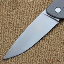 folded steel kitchen knives high quality turtle folding knife d2 blade turtle steel handle