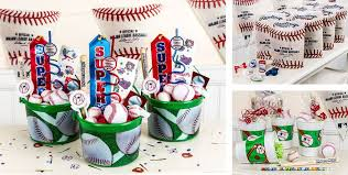 baseball party favors toys accessories keychains more