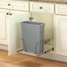 garbage can under the sink under sink trash can kitchen garbage cans under sink cool under the