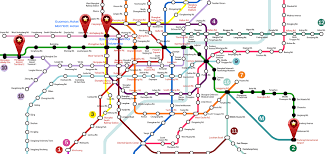 Shanghai Metro Map by Tase 2016