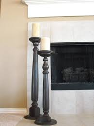 a little of this a little of that tall table leg candlesticks