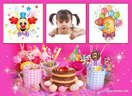 happy 3rd birthday choose ecard from birthday ecards