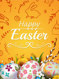 easter greeting cards happy easter colorful easter egg card birthday greeting cards