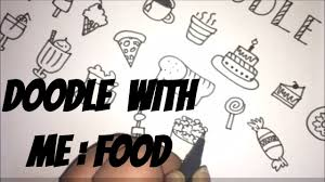 doodle with doodle with me food