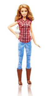amazon barbie careers farmer doll toys u0026 games