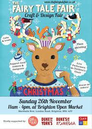 the fairy tale fair christmas craft fair at brighton open market