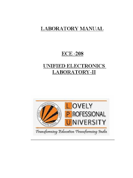 ece lab manual operational amplifier amplifier