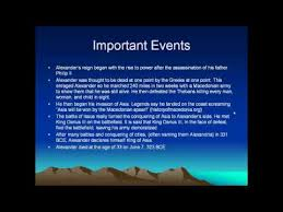 Alexander The Great Powerpoint Youtube Great Power Point