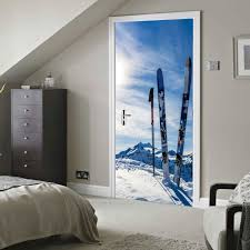 popular snowboard wall stickers buy cheap snowboard wall stickers funlife snowboard new arrival door stickers decorative wall art living room bathroom waterproof wall stickers home