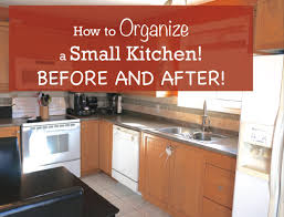 Organize My Kitchen Cabinets How To Organize A Small Kitchen Before And After Youtube