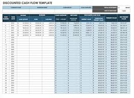 Discounted Flow Analysis Excel Template Free Flow Statement Templates Smartsheet