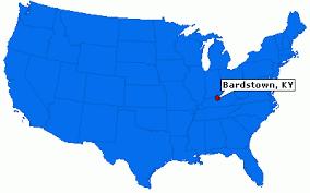 kentucky map bardstown bardstown kentucky city information epodunk
