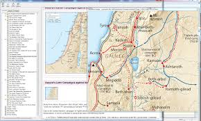 New Testament Map The Bibleworks Blog Blog Archive Bibleworks 9 The New Moody