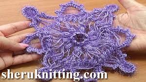 hairpin crochet hairpin crochet snowflake ornament tutorial 7 part 1 of 2 hairpin