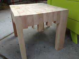 Making Wooden End Table by 47 Best 2x4 Outdoor Furniture Images On Pinterest Outdoor