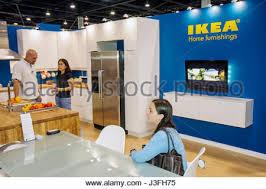 florida miami ikea home furnishings inside cafeteria restaurant