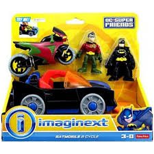 imaginext batmobile with lights price dc super friends imaginext batmobile and cycle toy