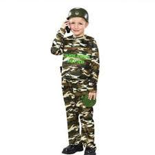 Halloween Military Costumes Unbranded Military Costumes Boys Ebay
