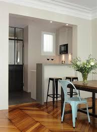 cuisine semi ouverte avec bar cuisine semi ouverte sur la salle à manger avec bar