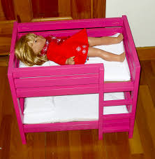 Dimensions Of Bunk Beds by Tips For Furniture Finishing Demonstrated On The American Girl