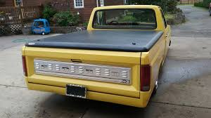 Ford F 150 Yellow Truck - for sale 1986 ford f 150 on a monte carlo chassis u2013 engine swap depot