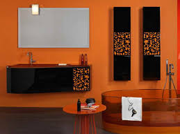 Bathroom Paint Schemes Creative Orange Bathroom Color Schemes Http Lanewstalk Com The