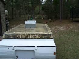 Pop Up Camper Awning Repair Coleman Pop Up Roof Repair Youtube