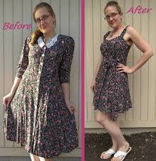 90s dress 90s floral dress refashion how to make a button up dress